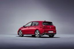 Photos Volkswagen Golf GTI 2020 face arrière