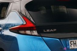 Photos essai Nissan Leaf e+ 2020 feux arrire