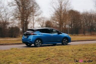 Photos essai Nissan Leaf e+ 2020 dynamique