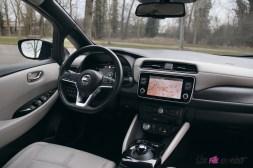 Photos essai Nissan Leaf e+ 2020 intŽrieur poste de conduite