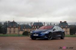 Photos essai Tesla Model S Grande Autonomie 2020 statique