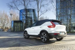 Photos Volvo XC40 T5 Recharge hybride rechargeable 2020 face arrire