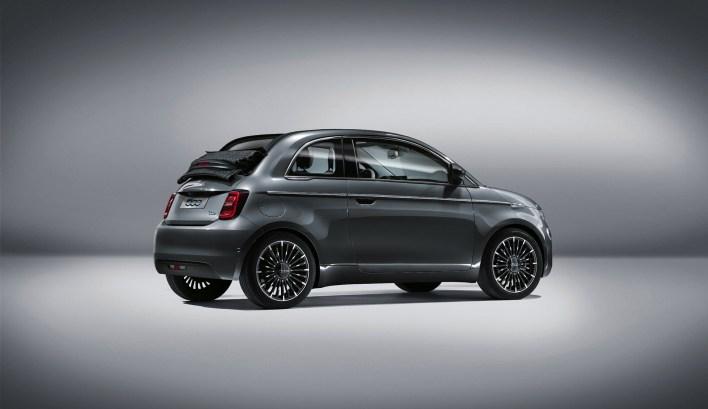 Photos Fiat 500 électrique 2020