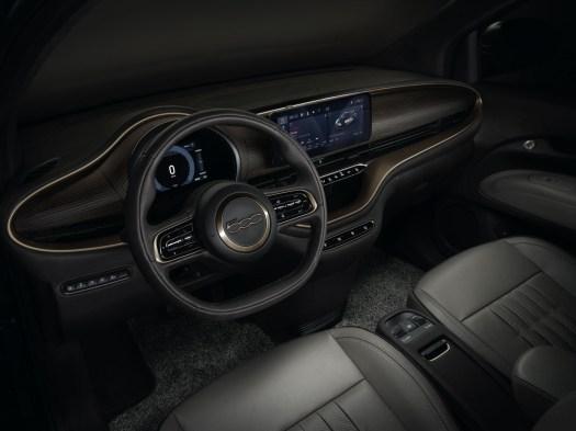 Photos Fiat 500 électrique 2020 intérieur