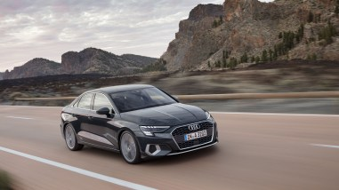 Photos Audi A3 berline 2020 face avant dynamique