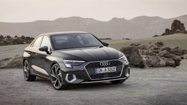 Photos Audi A3 berline 2020 avant statique calandre