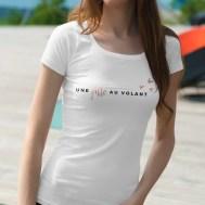 Photos T-shirt boutique en ligne Une Fille au Volant femme