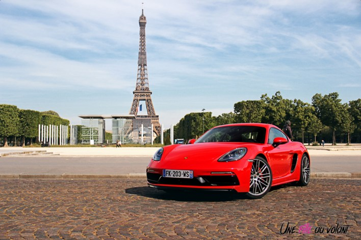 Photos essai Porsche 718 Cayman S 2020 face avant statique