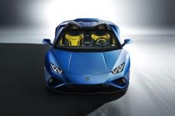 Photos Lamborghini Huracan Evo RWD Spyder 2020 face avant statique