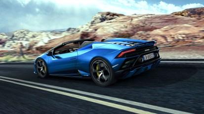 Photos Lamborghini Huracan Evo RWD Spyder 2020 V10 5,2