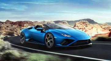 Photos Lamborghini Huracan Evo RWD Spyder 2020 cabriolet V10