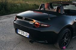 Photos Mazda MX-5 Eunos Edition 2020 face arrire