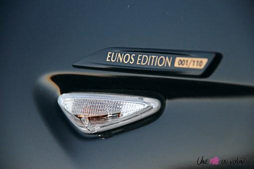 Photos Mazda MX-5 Eunos Edition 2020 badge numŽrotŽ aile avant