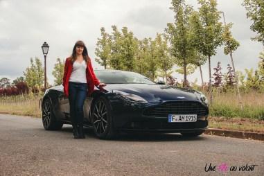 Photos essai Aston Martin DB11 Marie Lizak