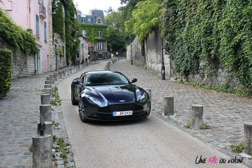 Photos essai Aston Martin DB11 Montmartre