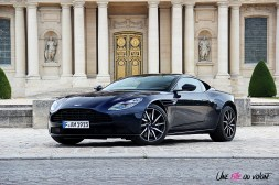 Photos essai Aston Martin DB11 coupŽ Midnight blue jantes 20 pouces