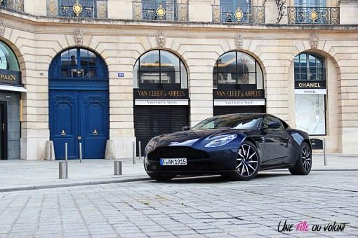 Photos essai Aston Martin DB11 coupŽ sportif face avant