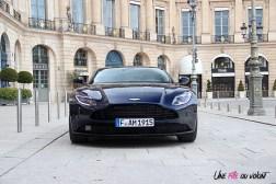 Photos essai Aston Martin DB11 face avant