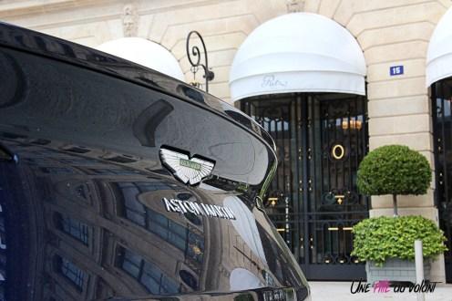 Photos essai Aston Martin DB11 logo coffre
