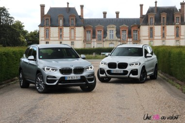 Photo essai BMW X3 hybride rechargeable 2020 xDrive