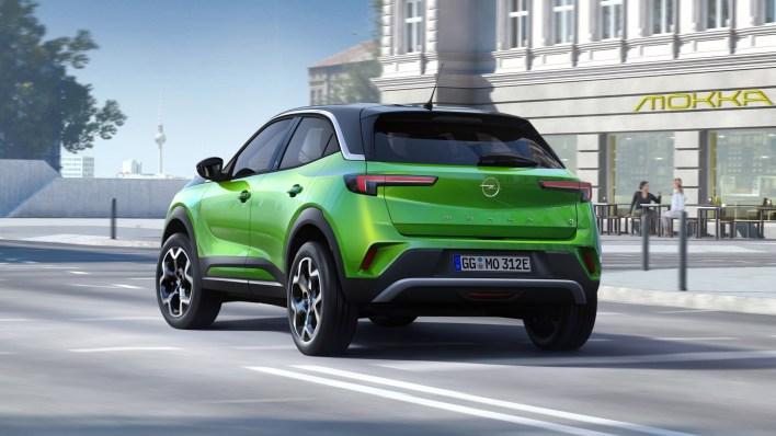Photos Opel Mokka 2020 face arrire