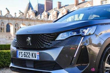Photo face avant Peugeot 3008 restylée