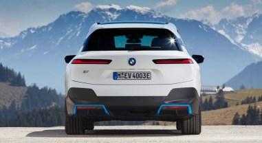 Photo arrière BMW iX 2021