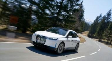 Photo BMW iX électrique 2021