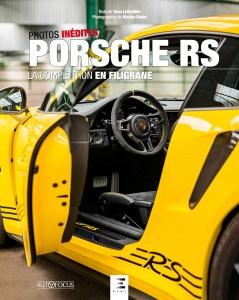 Livre Porsche RS, la compétition en filigrane