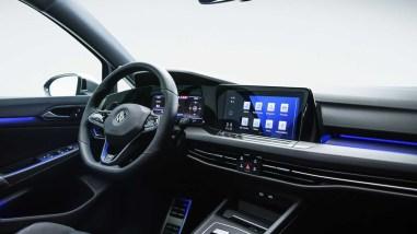 Photo intérieur Volkswagen Golf R 2020