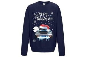 Pull moche de Noël Ford Mustang