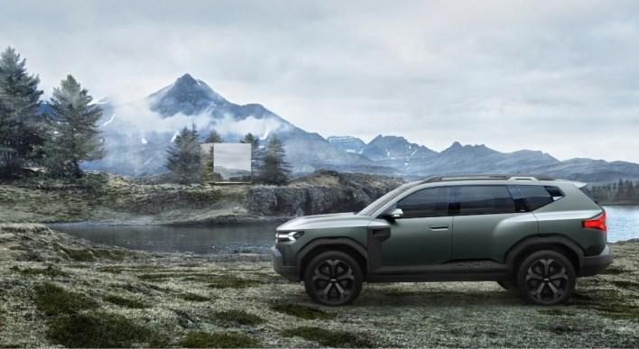Photo profil Dacia Bigster Concept 2021