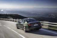 Photo arrière BMW M5 CS 2021