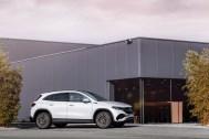 Photo statique Mercedes EQA électrique 2021
