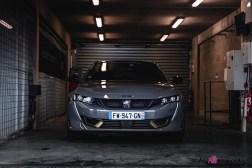 Photo face avant Peugeot 508 PSE 2021