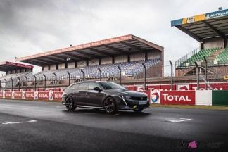 Photo Peugeot 508 PSE gris 2021
