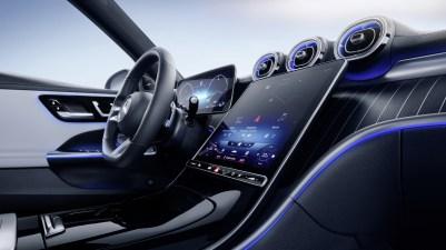Photo intérieur Mercedes Classe C 2021