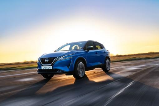 Photo face avant dynamique Nissan Qashqai 2021