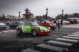 Photo Traversée de Paris hivernale 2021 Porsche 911