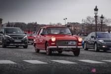 Photo Traversée de Paris hivernale 2021 Peugeot 404
