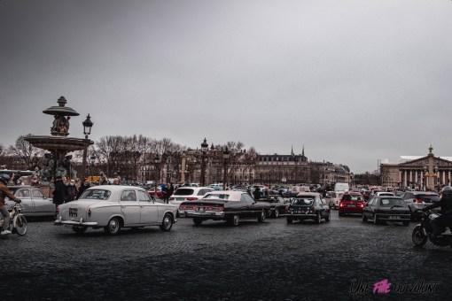 Photo Traversée de Paris hivernale 2021 ambiance
