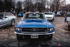 Photo Traversée de Paris hivernale 2021 avant Ford Mustang