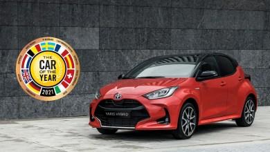 Photo of La Toyota Yaris est la Voiture de l'année 2021