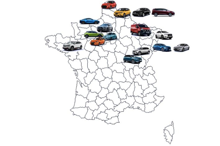 Carte modèles Made in France