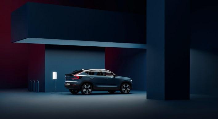 Photo Volvo C40 électrique 2021