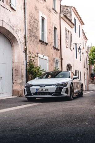 Photo portrait Audi e-tron GT Quattro 2021