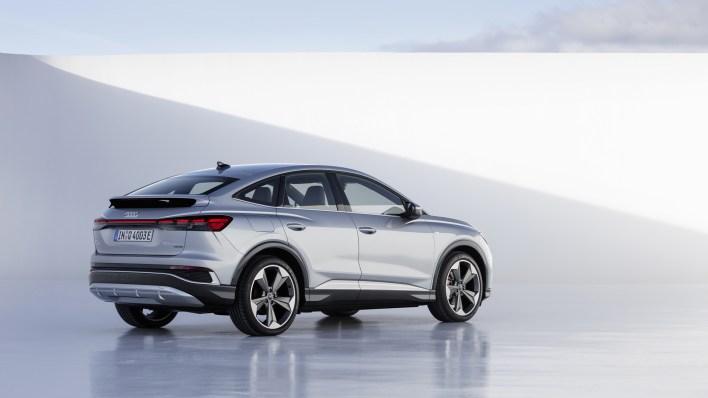 Photo arrière Audi Q4 e-tron 2021