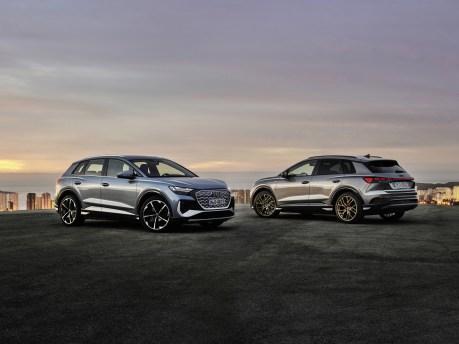 Photo Audi Q4 e-tron électrique 2021