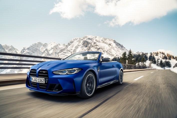 Photo face avant BMW M4 Competition xDrive Cabriolet 2021