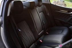 Photo banquette arrière Maserati Ghibli hybride 2021